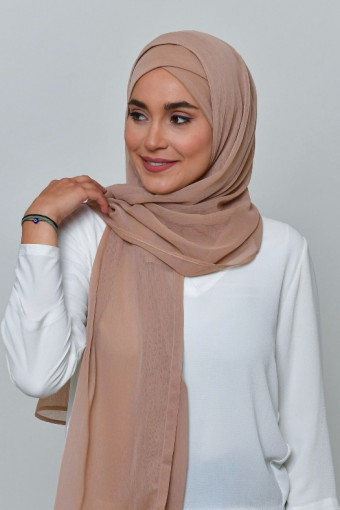 Blush - BASICS Plain Lite Chiffon