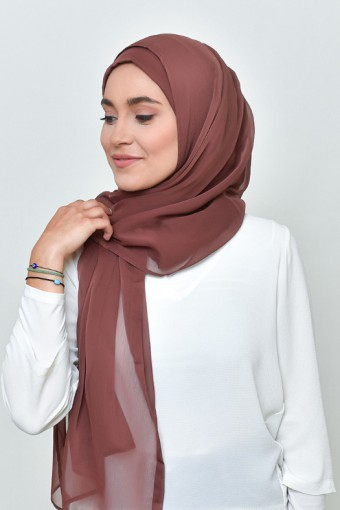 Fudge - BASICS Plain Lite Chiffon