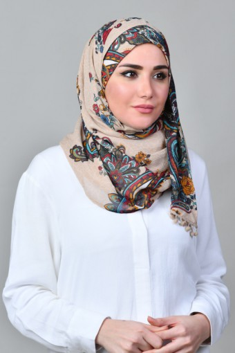 Kashmir Tan - Mini's & Capshawl