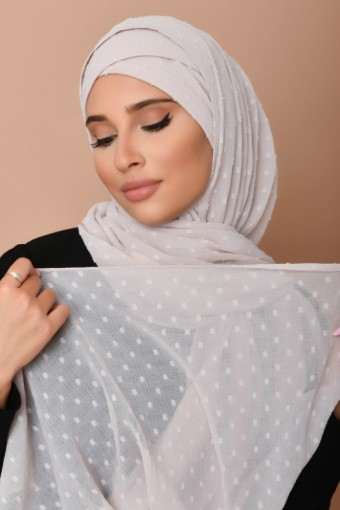 Rosana - Plain Swiss Dot Chiffon