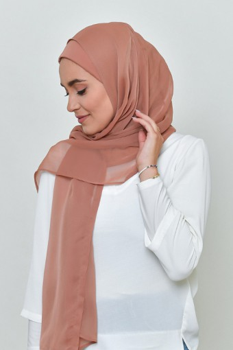 Sun-Kissed - BASICS Plain Lite Chiffon